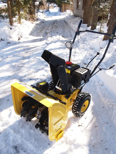 Snow removal machine, HEIGE HG-K6560.
